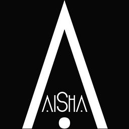 AiShA Logo bg Black-small